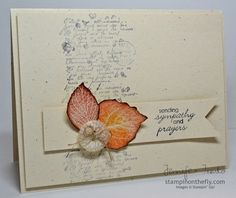 French Foliage ~ SU! ~ Jennifer Timko Stampin' Up!