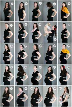Weekly pregnancy photos. Pregnancy belly. Watch Sprout Grow. www.AnyaAlbonetti.com Pregnancy Belly Pictures, Weekly Pregnancy Photos, Pregnancy Bump, Maternity Pictures, Pregnancy Progress Pictures, Baby Bump Photos, Pregnancy Tracker, Post Pregnancy Workout, Baby Bump Progression