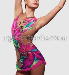"500 Days of Summer Gymnastics Leotard! Summer is a little life! It's time when everything blossoms! You want to walk till dawn inhaling the aroma of field flowers. It is easy to add bright colors to you performance with ""500 Days of Summer"" leotard.  #rhythmicgymnastics #rhythmic #gymnastics #sport #beauty #fashion #新体操"