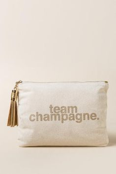 Team Champagne Pouch