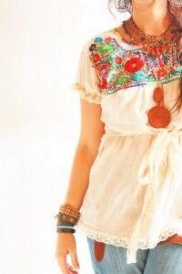 blusas con estilo mexicano 2