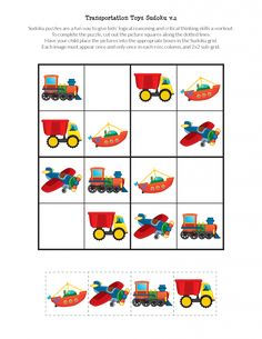 School Sudoku Puzzles - Gift of CuriosityDiscover recipes, home ideas, style inspiration and other ideas to try.Parenting Teens With Love And LogicVerses About Parenting Enhance Child Development With Toys. Parents who are trying to find toys that will im Sudoku Puzzles, Printable Puzzles, Logic Puzzles, Puzzles For Kids, Printables, English Worksheets For Kids, Love And Logic, Critical Thinking Skills, Dump Trucks