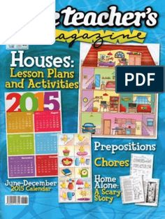 Teacher Magazine, Have Fun Teaching, Free Magazines, Prepositions, Scary Stories, Lesson Plans, Activities, How To Plan, Education