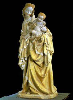 Krumauer Madonna, 1393, Kunsthistorisches Museum Wien