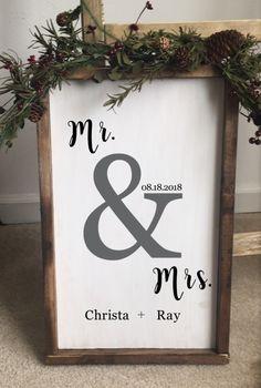 Mr. & Mrs. #rusticFarmhouse