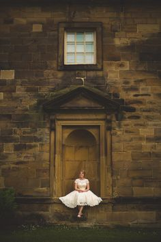 Real Bride Becky at beautiful wedding venue Nostell Priory in Yorkshire