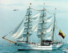 BAE  GUAYAS  de la Armada de Ecuador.