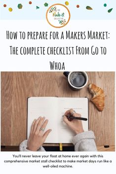 A comprehensive market stall checklist to ensure you've thought of (and packed) everything you need for a successful day at the markets. The Make, How To Make, Never Leave You, Market Stalls, Turning, Charger, Naked, Finding Yourself, Public