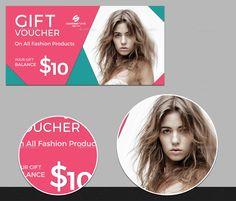 Gift Voucher #design Download: http://graphicriver.net/item/fashion-gift-voucher-03/13477160