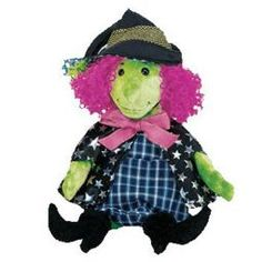 TY Beanie Baby - SCARY the Witch (7 inch)