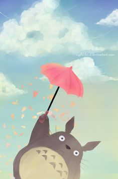 a pic of totoro for my friend Liesel's bday totoro (c) Miyazaki, Studio Ghilbi Totoro for FB friend ::GIFT:: Cute Wallpapers, Wallpaper, Drawings, Animation, Totoro Art, Art, Anime Wallpaper, Cartoon, Anime Movies