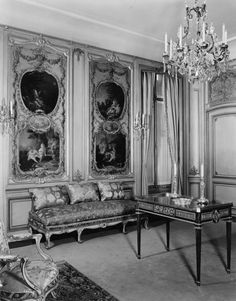 Frick Collection - Boucher Room, 1940. The Frick Collection/Frick Art Reference Library Archives.
