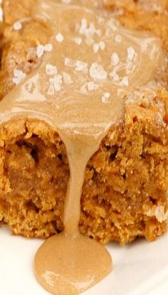 Salted Caramel Pumpkin Bars | pumpkin desserts, recipes