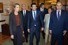 Elena of Spain and Luis Figo - I'm so happy that this two are together for a good cause in my country (Portugal)