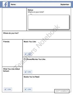 First Day of School - Time Capsule Assignment Junior Grades from House Fly Creations on TeachersNotebook.com (42 pages)