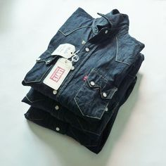 Levi's Vintage Clothing 1955 Sawtooth Denim Shirts