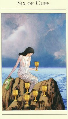 185 Best Six of Cups ¸ •´*¨`*•✿ images in 2018 | Tarot card decks