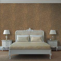 Papel Pintado Leopardo Tiguane
