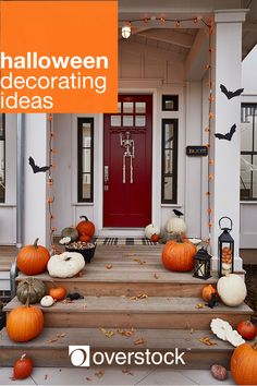 Decorate your home for Halloween and embrace the spooky spirit of the season. These tips and tricks will help you get  started on your frighteningly fun journey. Head to Overstock for all of your Halloween needs! Click to learn more.