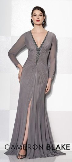 24 Plus Size Long Wedding Guest Dresses  with Sleeves. Formal Bridesmaids  ... 5094ab98fabc