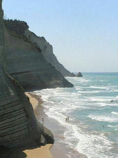 Παραλία Λογγάς, (Περουλάδες) Κερκυρα  Loggas beach, Corfu, Greece