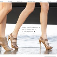 Michael kors- love those heels