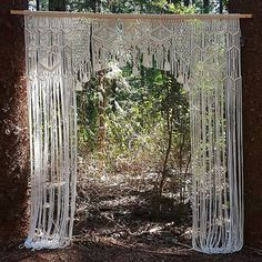 are thrilled and excited to bring you this beauty, new to our hire range! This x macrame arbor has been custom made by amazingly talented Kim We are truly in love with this masterpiece and we know you will be too! Macrame, Backdrops, Empire, Bring It On, Vintage, Photo And Video, Amazing, Range, Beauty