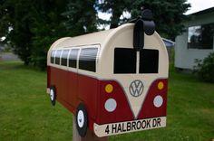 EJEMPLO  encargo para Volkswagen Bus buzón por por TheBusBox, $139.00