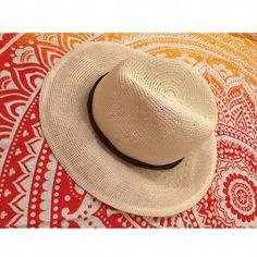 fяєє ρєσρℓє - Boho Fedora Sun Hat Prices are firm unless bundled No swaps, models, or reserves -- sorry! Free People Accessories Hats