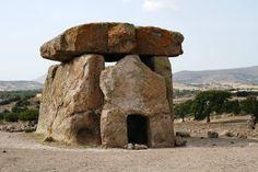 "Dolmen in Sardinia- Sardegna. ""Sa Coveccada""- Mores Sassari"