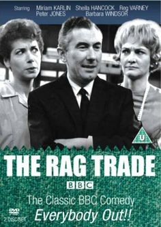 Shop for The Rag Trade - Bbc Series 1 [dvd] Starting from Choose from the 5 best options & compare live & historic dvd prices. Posters Uk, British Comedy, British Sitcoms, Classic Comedies, Vintage Television, Old Time Radio, Uk Tv, My Childhood Memories, Family Memories