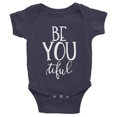 BE YOU tiful Infant short sleeve one-piece