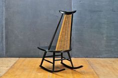 Ilmari Tapiovaara Dr. No Wicker Rocking Chair