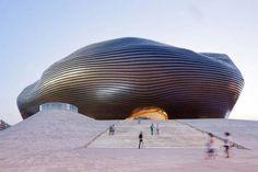 + Arquitetura :     Conheça o museu de Ordos (China), um ótimo trabalho da MAD architects.