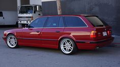 This 1995 BMW Touring has been upgraded with a liter and manual transmission. It began life as a with a smaller, liter and automatic transmission, and was converted early last year by a BMW master technician using all OEM parts. Bmw E36 Touring, Bmw Old, Bmw M Series, Volkswagen Golf Mk2, Vw Sharan, Bmw Wagon, Bmw Classic Cars, Cabriolet, Top Cars