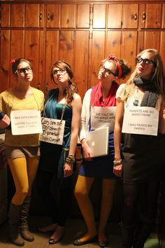 Making Fun of Hipsters and Disney Princesses on Halloween (everyone's trying to be the first at something)
