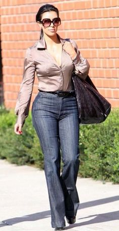 Kim Kardashian Fashion and Style - Kim Kardashian Dress, Clothes, Hairstyle - Page 139