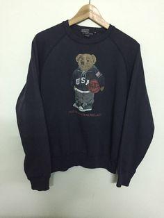 b5adeaf9d9f9 Polo Ralph Lauren Rare sweatshirt Polo Bear Size m - Sweatshirts   Hoodies  for Sale -