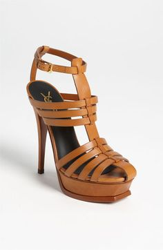 Aaahh... Mi Amor....Saint Laurent Paris 'Tribute' Sandal | Nordstrom