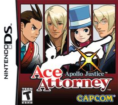Apollo Justice: Ace Attorney cover