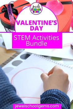 Valentine's STEM Activities and Challenges for Kids by Jewel's School Gems| Looking for ideas for easy Valentine's Day STEM projects? Try these Valentine's STEM challenges! Your students will design and build a mailbox, a love boat and a rose. These engineering activities will require the use of problem solving, communication skills, collaboration and creativity. CLICK TO LEARN MORE! #jewelschoolgems