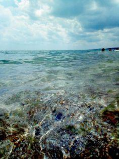 Какое невероятное сегодня море!