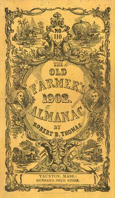 Farmers Almanac-front cover 1902 copyright