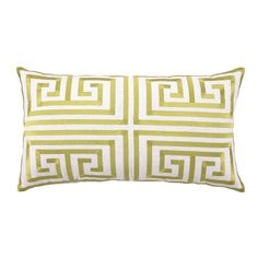 Pillows are an inexpensive way to update and refresh your home. I love these pillows with the Greek key design, so classic, and this one is in one of my favorite colors!