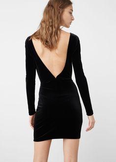 Velvet dress | MANGO