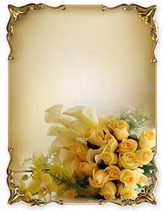 Framed Wallpaper, Flower Wallpaper, Pattern Wallpaper, Borders For Paper, Borders And Frames, Black Background Images, Paper Background, Flower Frame, Flower Art
