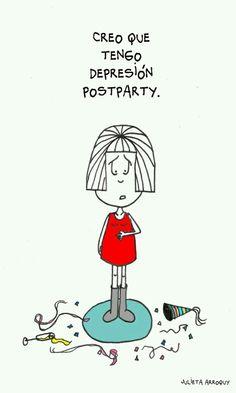 Depresión postparty