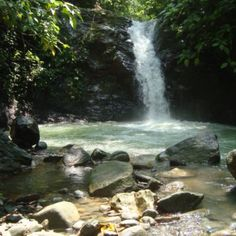 The waterfalls in Uvita, Costa Rica- only ten minutes away from Kura Design Villas. They have a great restaurant there too!