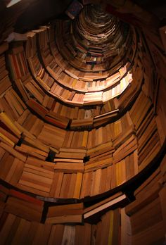 This is cool,but the thought of how they retrieve the books makes my stomach a little sick