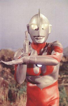 Ultraman......my first hero :O) - Indeed, as was mine. GodZilla would be proud! #ultraman #70s #tv